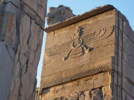 Farvahar i Persepolis - Foto Ashk Dahlén